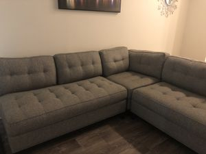 3 pc rooms to- go tufted SECTIONAL for Sale in Atlanta, GA
