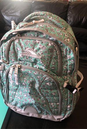 High Sierra laptop computer book bag backpack for Sale in Charlotte, NC