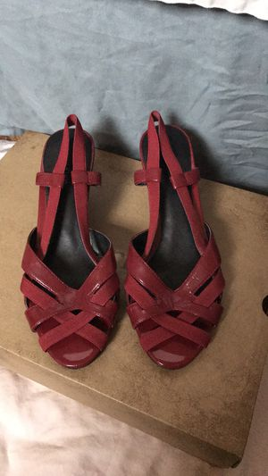 Red Strappy Wedge for Sale in Pittsburgh, PA