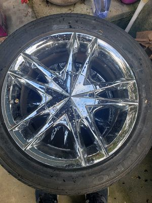 Chrome wheels rims 4x100 for Sale in Seattle, WA
