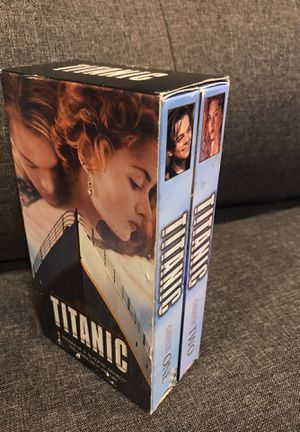 Titanic VHS Set for Sale in Ithaca, NY