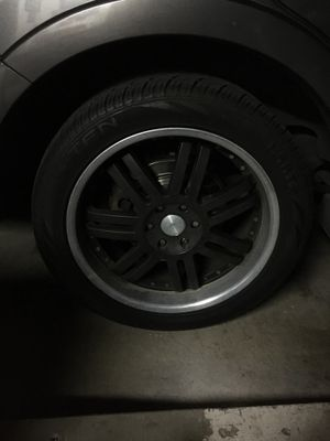 "22"" Rims from ford expedition for Sale in Riverside, CA"