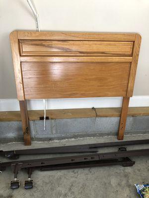 Twin bed frame w/ rails for Sale in Rockvale, TN