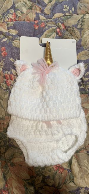 Cloud Island Hat and Diaper cover for Sale in Azle, TX