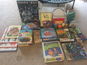 Lot of games, toys, books, puzzles, flash cards, etc for Sale in Gilbert, AZ