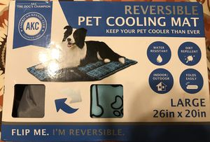 """New akc reversible pet cooling mat 26x20"""" for Sale in Port St. Lucie, FL"""