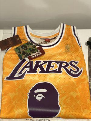 Bape Lakers X-L for Sale in South El Monte, CA