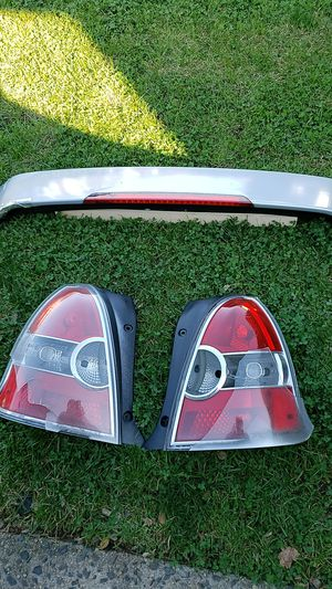 2007 Hyundai Accent spoiler and tail light all for $30 for Sale in West Hempstead, NY