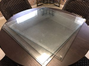 "Four 30"" Square Tempered glass table tops for Sale in St. Petersburg, FL"