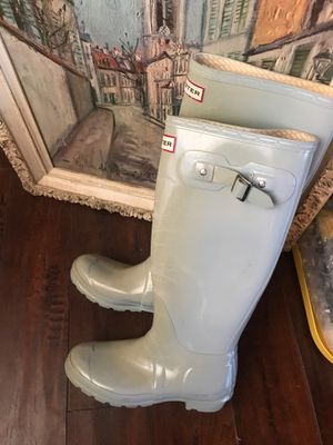 HUNTER BOOTS Sz UK 4 EUR 37 IS 5M/6F for Sale in La Habra Heights, CA