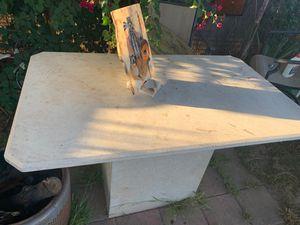 Granite table real granite for Sale in Azusa, CA