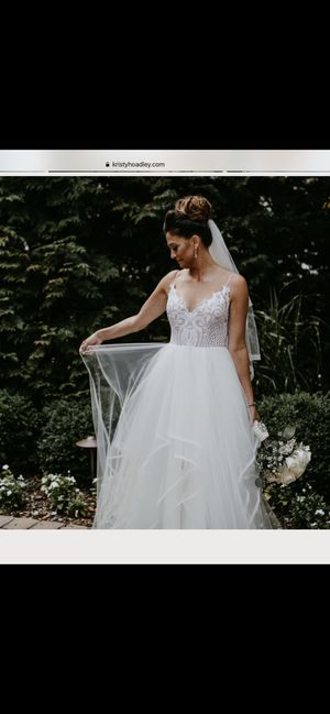 Hailey Paige Wedding Gown (Pepper) for Sale in Fair Lawn, NJ