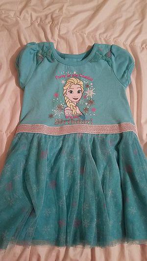 Elsa birthday dress 3t for Sale in Rockville, MD