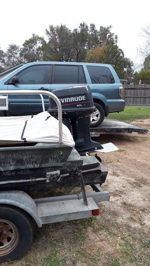 Outboard boat motor for Sale in Houston, TX