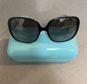 Tiffany & Co Sunglasses Black Aqua with polarized Grey Gradient for Sale in Costa Mesa, CA