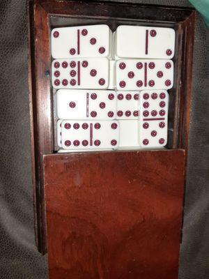 Nice vintage set of dominos for Sale in Erie, PA