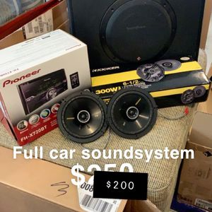 Car Soundsystem for Sale in Virginia Beach, VA