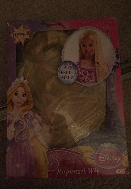 Merida & Rapunzel wigs