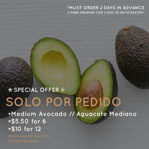 Medium avocado for sale for Sale in South Gate, CA