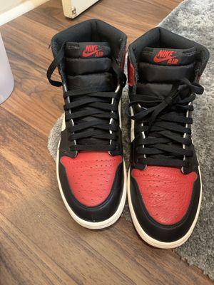 Jordan 1 OG Bred Toe for Sale in Macon, GA