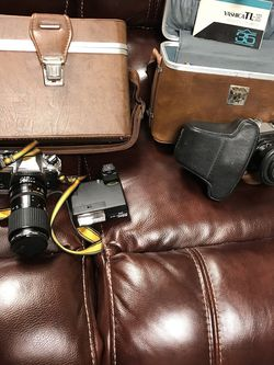 Nikon & Yashica 35 MM Film Cameras. for Sale in Troy,  IL