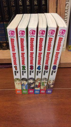 Absolute boyfriend manga complete 1-6 for Sale in San Antonio, TX