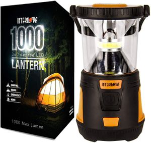 Internova 1000 LED Camping Lantern - Massive Brightness with Fully Adjustable 360 Arc Lighting - Emergency - Backpacking - Construction - Hiking - Aut for Sale in McCalla, AL