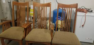 Dinning room Table and six chairs for Sale in Bend, OR