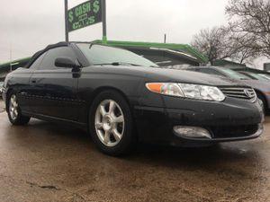 2002 Toyota Camry Solara for Sale in Dallas, TX
