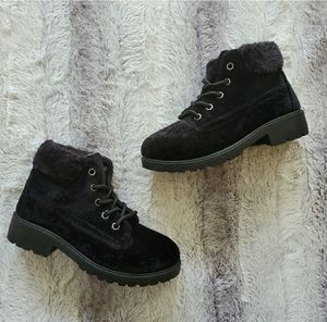 Girls' Black Velour Combat Boots for Sale in Saint Matthews, SC