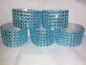100 Turquoise Napkin Rings for Weddings for Sale in Winter Haven, FL