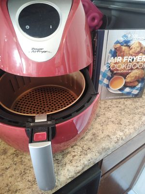 XL POWER AIR FRYER AND COOK BOOK for Sale in San Antonio, TX
