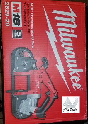 Milwaukee M18 Band Saw tool only brand new for Sale in Norwalk, CA