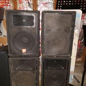 JBL JRX100 unpowered Speakers for Sale in Portland, OR