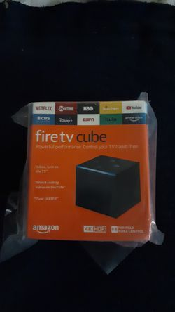 4k Fire TV Cube Brand New Never opened in Box for Sale in Vancouver,  WA