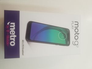 """New Moto G7 play 5.7"""" LCD 32gb phone Never Used for Sale in Berkeley, CA"""