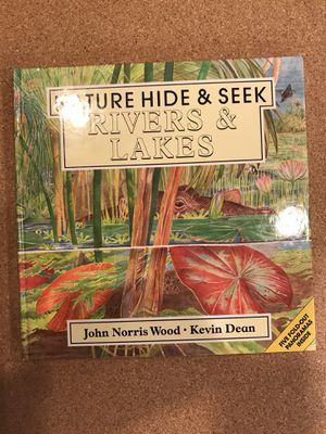 Nature hide&seek rivers & lakes book with five fold-our panoramas for Sale in Lafayette, LA