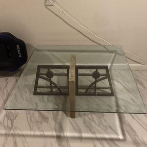 Glass table for Sale in Grand Rapids, MI