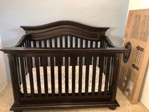 Baby Cache- Heritage Crib and Guard rail for Sale in Miami, FL