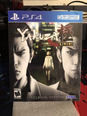Yakuza Kiwami Steelbook edition PS4 for Sale in Hawthorne, CA