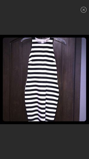 Black and white striped dress size small for Sale in Kearney, NE