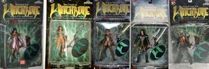 5 figures vintage collection action figures Witchblade for Sale in Dallas, TX