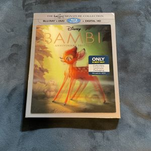 Disneys Bambi Blu Ray Signature Collection for Sale in Covina, CA
