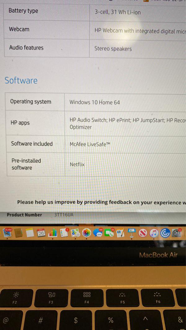 HP notebook 15 B5121 laptop