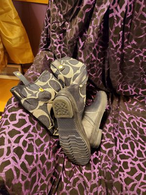 Coach rain boots mint condition for Sale in Salisbury, NC