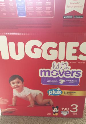 Huggies diapers size 3, 132 count, new for Sale in Puyallup, WA