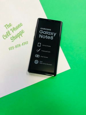 Samsung Galaxy Note 8 Unlocked 64gb with guarantee and warranty for Sale in Carrollton, TX