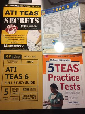 ATI TEAS study books and Antony coloring book for Sale in Scottsdale, AZ