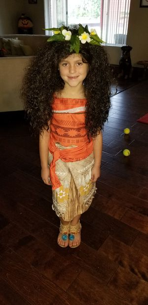 Moana Halloween costume for Sale in Kissimmee, FL