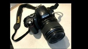 Nikon D40x camera for Sale in San Diego, CA